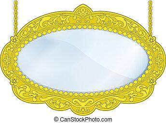 Fancy Boutique Mirror