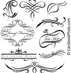 Fancy Scrolls - Fancy scrolls and borders