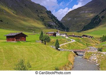 Fane Alp in italian Dolomites