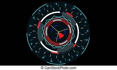 faner, dehors, radar, électronique, intérieur, cycle, mètre...
