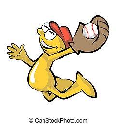 fangen, baseball