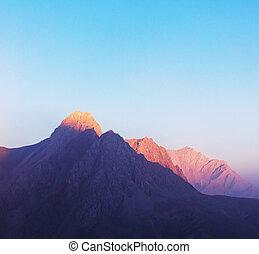 Beautiful landscape of Fann Mountains, Tajikistan