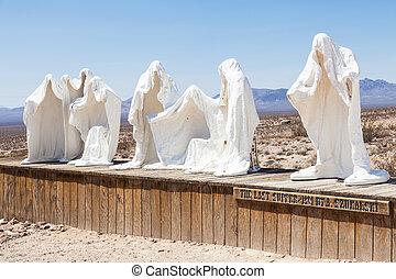 fantôme, désert