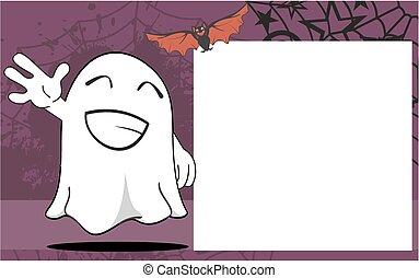 fantôme, frame8, halloween, dessin animé