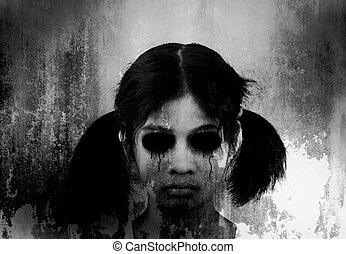 fantôme, girl