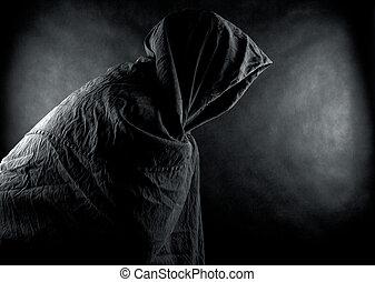 fantôme, sombre