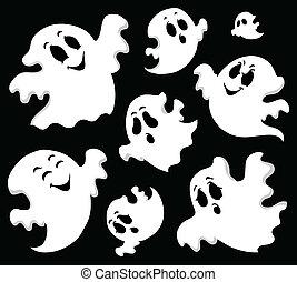 fantôme, thème, image, 1