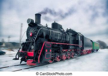 fantôme, train