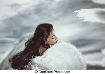 fantasía, ángel