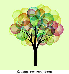 fantasía, árbol