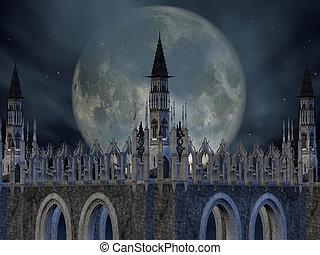fantasía, castillo