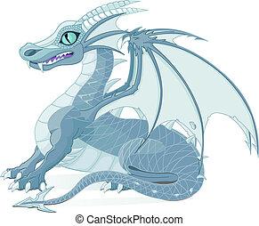 fantasía, dragón