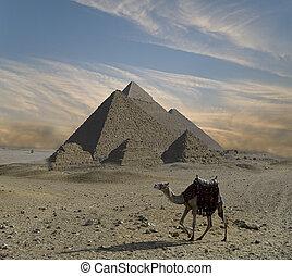 fantasía, pirámides