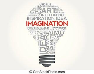 fantasi, ord, moln, lök