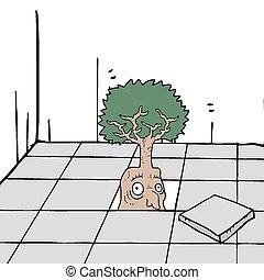 fantasia, árvore