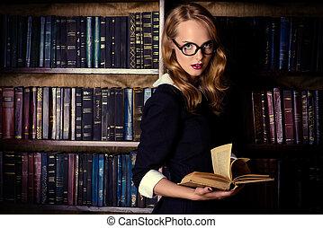 fantasia, biblioteca