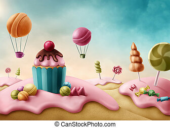 fantasia, candyland