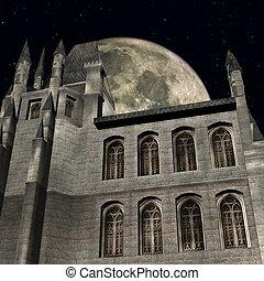 fantasia, castello