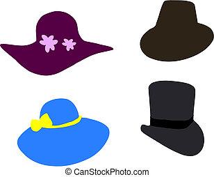 fantasia, chapéus