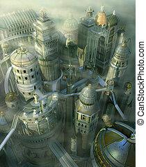 fantasia, città