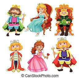 fantasia, jogo, personagem, caricatura