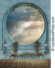 fantasia, paesaggio