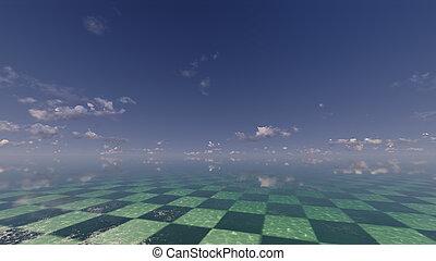 fantasia, paisagem