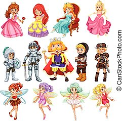 fantasie, karakters