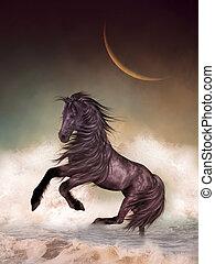 fantasie, paarde