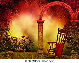 fantasie, plek, magisch
