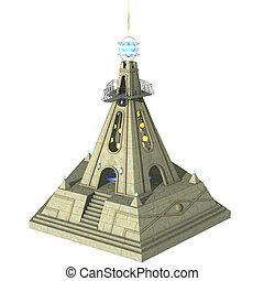 fantasie, tempel