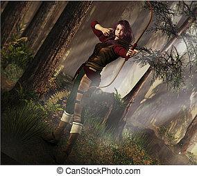 fantasien, archer