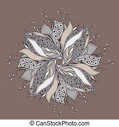 fantasien, blomst mønster