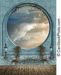 fantasien, landskab