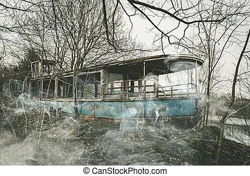fantasma, barco