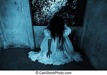 fantasma, casa, obsesionado