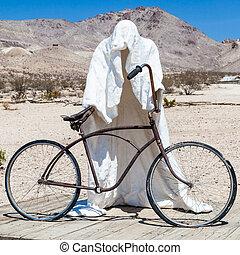 fantasma, desierto