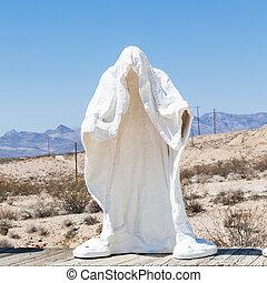 fantasma, en, el, desierto