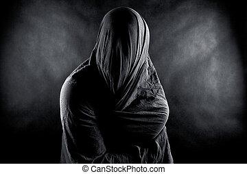 fantasma, escuro