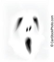 fantasma, faccia