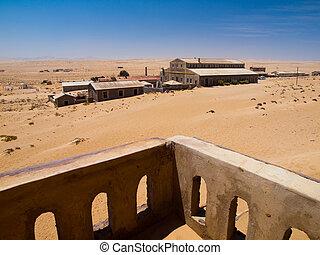 fantasma,  Kolmanskop, aldea