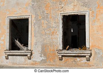 fantasma, pueblo