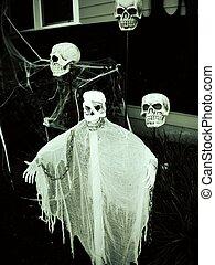 fantasmal, cráneos