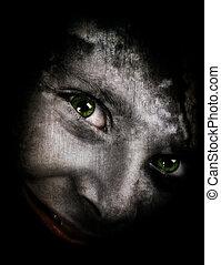 fantasmal, monstruo