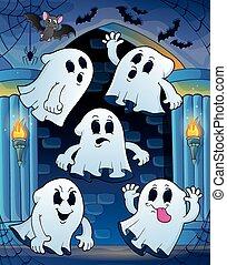 fantasmas, obsesionado, castillo