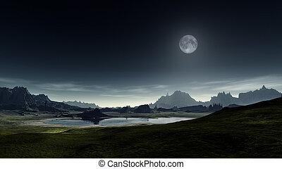 fantasme, paysage