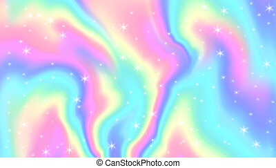 fantasme, texture., holographic, fleuret