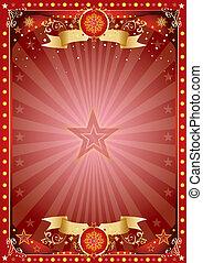 Fantastic christmas poster