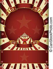 Fantastic circus entertainment