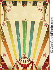 Fantastic color circus